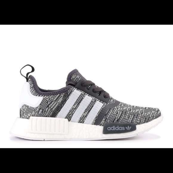 Adidas NMD R1 Glitch Women's Midnight Grey BY3035   Sole